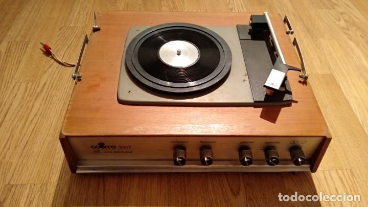 TOCADISCOS COSMO (Radios, Gramófonos, Grabadoras y Otros - Transistores, Pick-ups y Otros)
