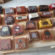 Radios antiguas: RADIOS DE ANTAÑO - RBA FABRI - 40 RADIOS + 40 FASCÍCULOS + 1 TAPA - NUEVAS. Lote 167945485