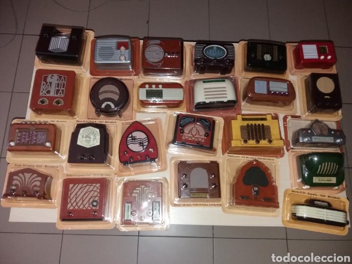 Radios antiguas: RADIOS DE ANTAÑO - RBA FABRI - 40 RADIOS + 40 FASCÍCULOS + 1 TAPA - NUEVAS - Foto 3 - 167945485