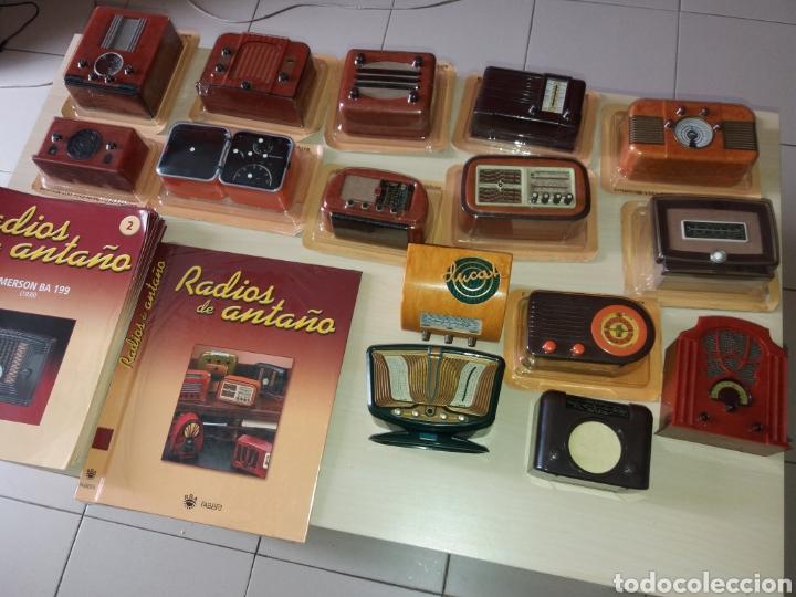 Radios antiguas: RADIOS DE ANTAÑO - RBA FABRI - 40 RADIOS + 40 FASCÍCULOS + 1 TAPA - NUEVAS - Foto 4 - 167945485