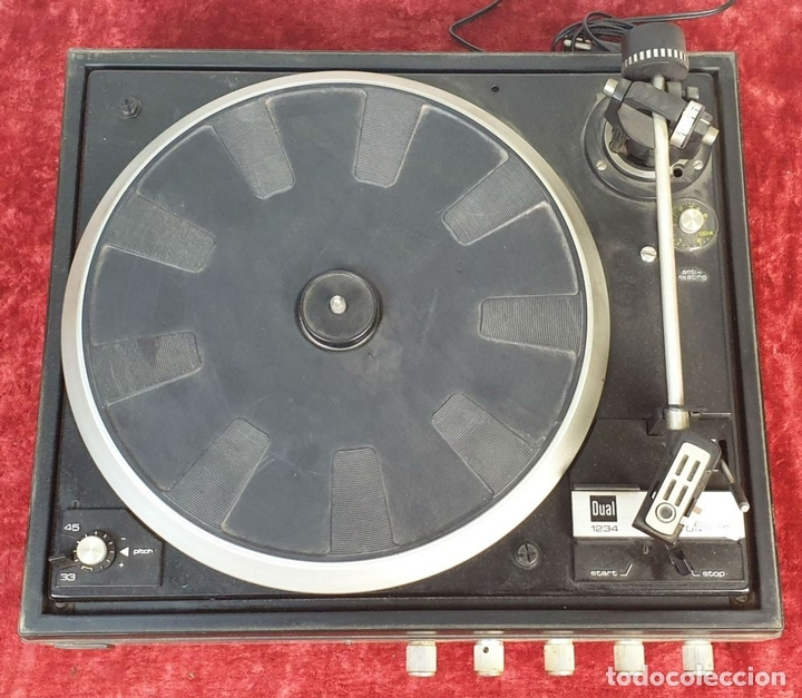 Radios antiguas: TOCADISCOS DUAL 1234. MODELO BETTOR EF-144. STERO. AUTOMÁTICO. CIRCA 1970. - Foto 3 - 167959888