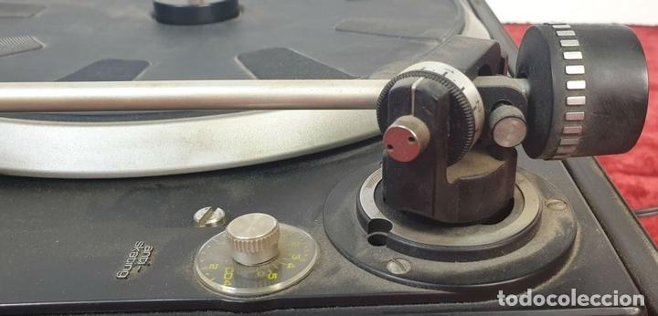 Radios antiguas: TOCADISCOS DUAL 1234. MODELO BETTOR EF-144. STERO. AUTOMÁTICO. CIRCA 1970. - Foto 10 - 167959888