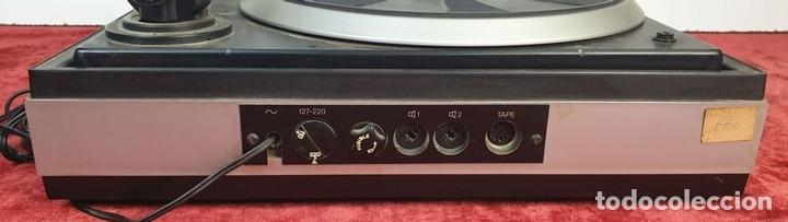 Radios antiguas: TOCADISCOS DUAL 1234. MODELO BETTOR EF-144. STERO. AUTOMÁTICO. CIRCA 1970. - Foto 11 - 167959888