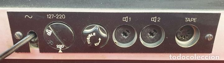 Radios antiguas: TOCADISCOS DUAL 1234. MODELO BETTOR EF-144. STERO. AUTOMÁTICO. CIRCA 1970. - Foto 14 - 167959888