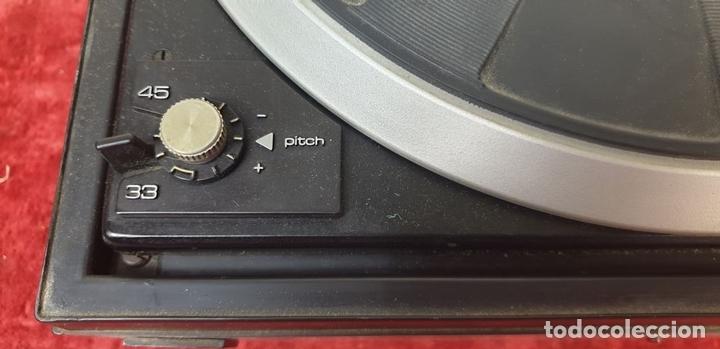 Radios antiguas: TOCADISCOS DUAL 1234. MODELO BETTOR EF-144. STERO. AUTOMÁTICO. CIRCA 1970. - Foto 15 - 167959888