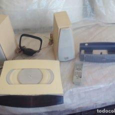 Radios antiguas: REPRODUCTOR DE CD Y RADIO JVC VS-DT6R. MODEL NO. CA-VSDT6R. 36 W. COMPACT COMPONENT SYSTEM. Lote 168060448