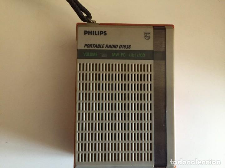 Radios antiguas: philips D 1036 - Foto 2 - 194246882