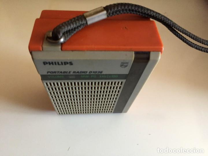 Radios antiguas: philips D 1036 - Foto 6 - 194246882