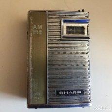 Radios antiguas: RADIO SHARP SOLID STATE. Lote 168277128