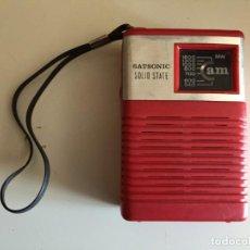 Radios antiguas: RADIO SATSONIC SOLID STATE.. Lote 168277840
