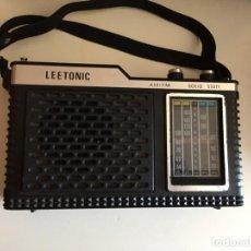 Radios antiguas: RADIO LEETONIC SOLID STATE.. Lote 278302908