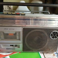 Radios antiguas: RADIO CASSETE ANTIGUO SANYO. Lote 168331964