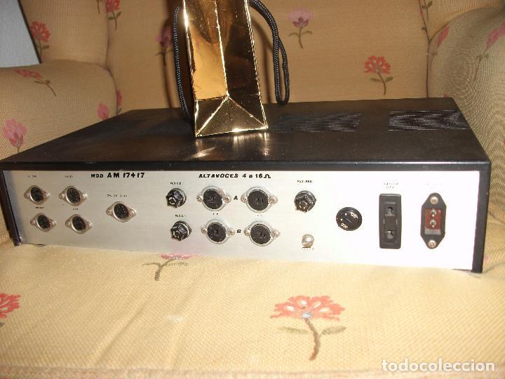 Radios antiguas: VINTAG AMPLIFICADOR AUDIO **ROSELSON** - Foto 2 - 168579160
