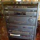 Radios antiguas: CADENA MÚSICAL PHILIPS VINTAGE COMPLETA. Lote 168605132