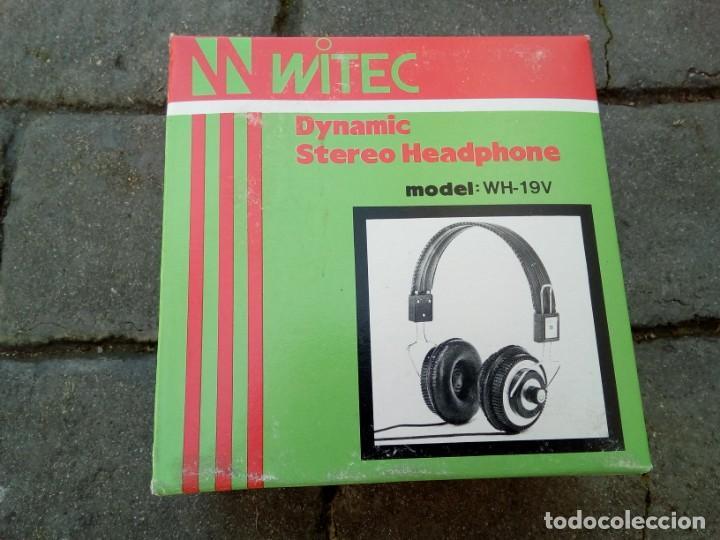 AURICULARES WITEC MODEL:WH-19V (Radios, Gramófonos, Grabadoras y Otros - Transistores, Pick-ups y Otros)