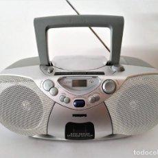 Radios antiguas: RADIO CD CASSETTE PHILIPS AZ 1008. Lote 168771976