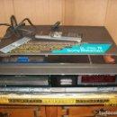 Radios antiguas: VIDEO SONY BETAMAX-BETA-MODELO SL-F60- CON MANDO.FUNCIONA. Lote 168867980