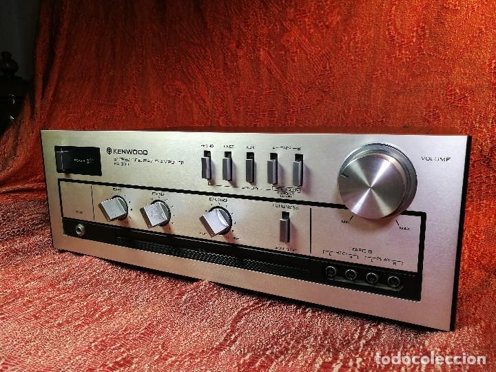 Radios antiguas: AMPLIFICADOR STEREO KENWOOD KA-300 - VINTAGE STEREO AMPLIFIER FUNCIONANDO PERFECTAMENTE - Foto 4 - 168964944