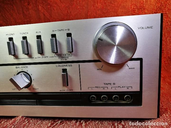 Radios antiguas: AMPLIFICADOR STEREO KENWOOD KA-300 - VINTAGE STEREO AMPLIFIER FUNCIONANDO PERFECTAMENTE - Foto 9 - 168964944