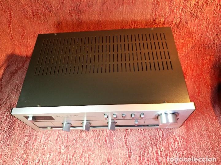 Radios antiguas: AMPLIFICADOR STEREO KENWOOD KA-300 - VINTAGE STEREO AMPLIFIER FUNCIONANDO PERFECTAMENTE - Foto 10 - 168964944