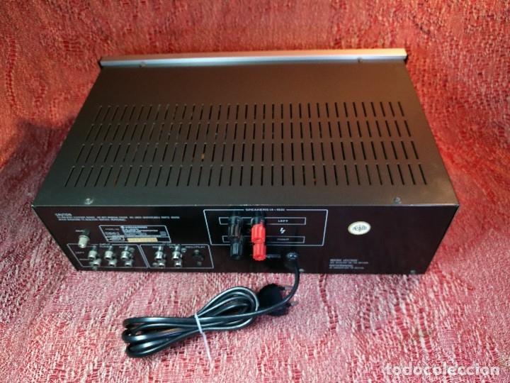 Radios antiguas: AMPLIFICADOR STEREO KENWOOD KA-300 - VINTAGE STEREO AMPLIFIER FUNCIONANDO PERFECTAMENTE - Foto 12 - 168964944