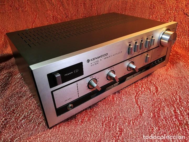 Radios antiguas: AMPLIFICADOR STEREO KENWOOD KA-300 - VINTAGE STEREO AMPLIFIER FUNCIONANDO PERFECTAMENTE - Foto 17 - 168964944