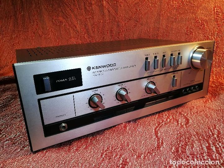 Radios antiguas: AMPLIFICADOR STEREO KENWOOD KA-300 - VINTAGE STEREO AMPLIFIER FUNCIONANDO PERFECTAMENTE - Foto 19 - 168964944