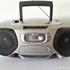 Radios antiguas: RADIO CD CASSETTE PHILIPS AZ1010. Lote 169072244