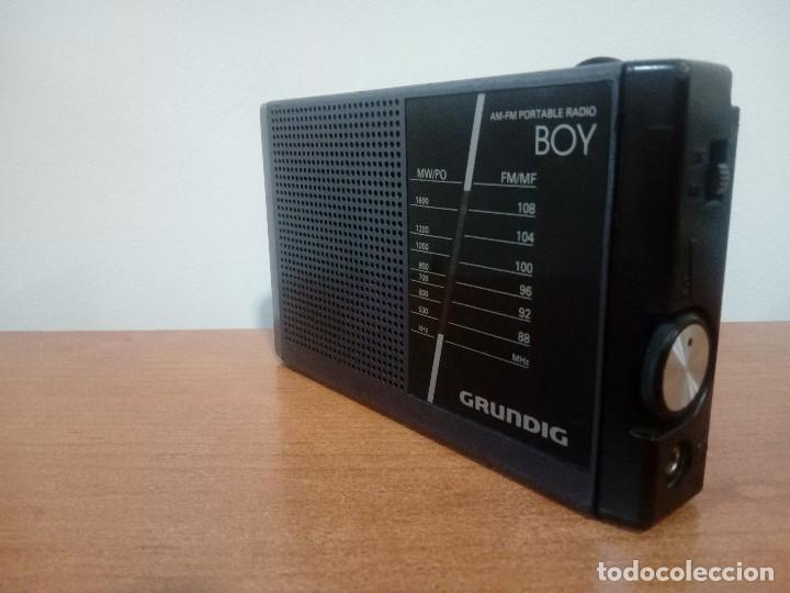 Radios antiguas: Radio transistor grundig boy 40a - Foto 2 - 169235890