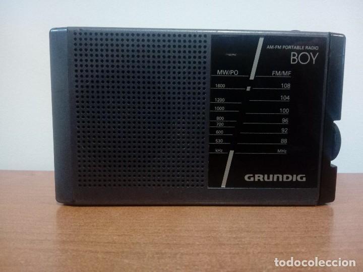 RADIO TRANSISTOR GRUNDIG BOY 40A (Radios, Gramófonos, Grabadoras y Otros - Transistores, Pick-ups y Otros)