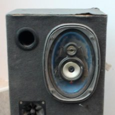 Radios antiguas: CAJA BOMBO PARA COCHE. FABRICADO CON TABLERO MARINO.. Lote 169292596