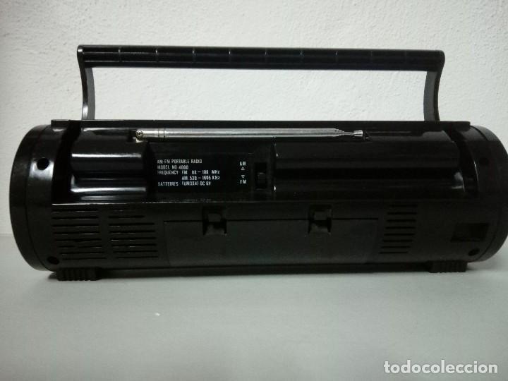 Radios antiguas: Radio transistor International m 4000 - Foto 3 - 169577296