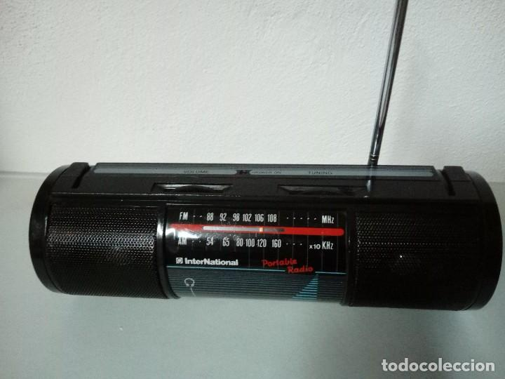Radios antiguas: Radio transistor International m 4000 - Foto 5 - 169577296