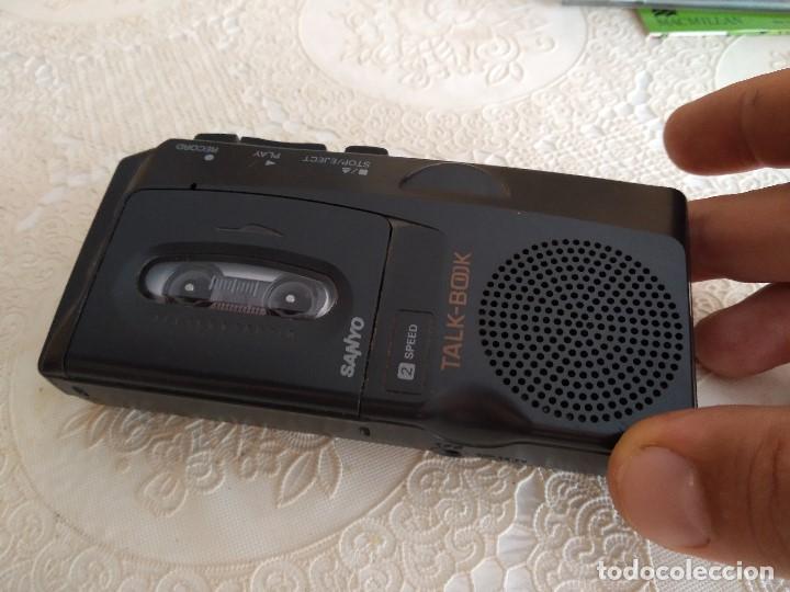 C-MASN38 GRABADORA MICRO CASETE SANYO TALK-BOOK MODELO TRC-520M FUNCIONA PERFECTO (Radios, Gramófonos, Grabadoras y Otros - Transistores, Pick-ups y Otros)