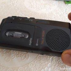 Radios antiguas: C-MASN38 GRABADORA MICRO CASETE SANYO TALK-BOOK MODELO TRC-520M FUNCIONA PERFECTO. Lote 169646696