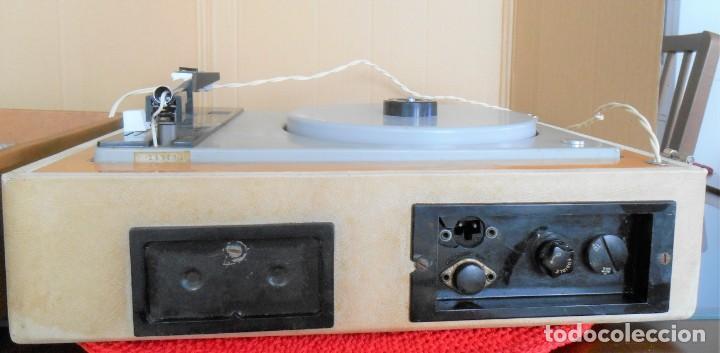 Radios antiguas: Tocadiscos BETTOR - Dual - Modelo :Mark - 527 .No funciona - Foto 5 - 169956776