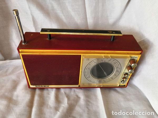 Radios antiguas: RADIO DE LA MARCA INTER AÑOS 60 - FUNCIONA - - Foto 2 - 170114844