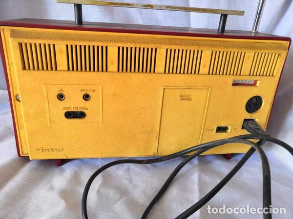 Radios antiguas: RADIO DE LA MARCA INTER AÑOS 60 - FUNCIONA - - Foto 5 - 170114844