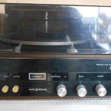 Radios antiguas: TOCADISCOS : COSMO ,MODELO F 6770 AUTOMATICO ,FUNCIONANDO. Lote 170189192