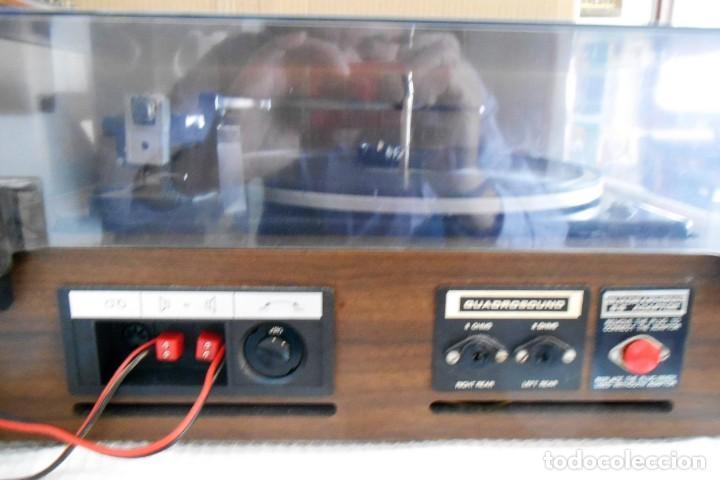 Radios antiguas: Tocadiscos : COSMO ,Modelo F 6770 Automatico ,funcionando - Foto 3 - 170189192
