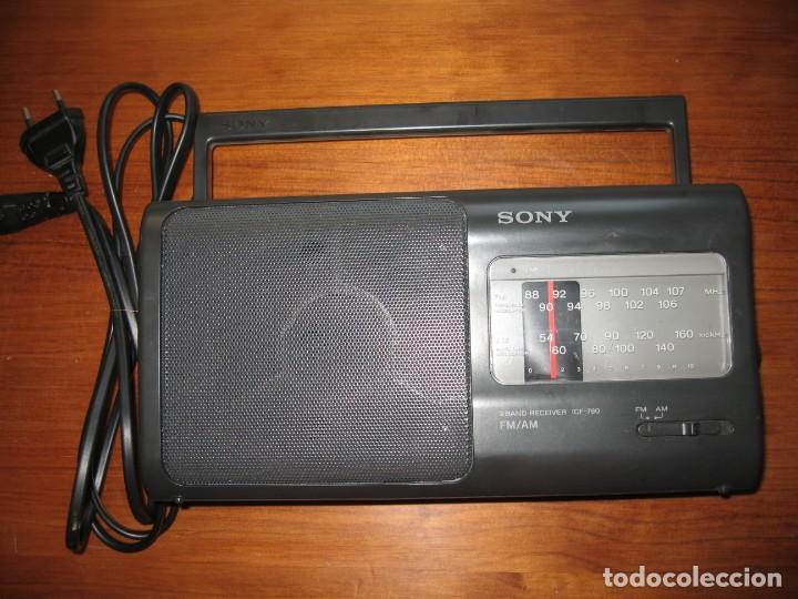 RADIO SONY 2 BAND RECEIVER ICF-780 (Radios, Gramófonos, Grabadoras y Otros - Transistores, Pick-ups y Otros)