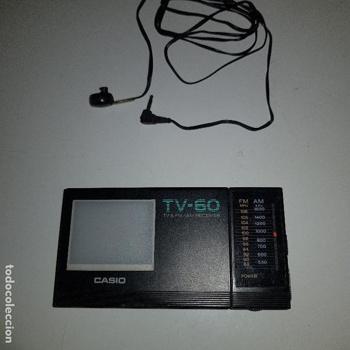 CASIO TV 60 (Radios, Gramófonos, Grabadoras y Otros - Transistores, Pick-ups y Otros)