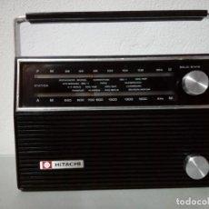 Radios antiguas: RADIO TRANSISTOR HITACHI KH- 931E. Lote 170498156