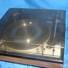 Radios antiguas: ANTIGUO TOCADISCOS DUAL 1214 - REVISADO, Y ADAPTADO A R.C.A. - FUNCIONA BIEN. Lote 170509178