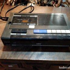 Radios antiguas: RADIO CASSETTE Y RELOJ SEG W-3600 - 27 X 16 X 6.5CM. Lote 170640340