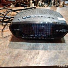 Radios antiguas: RADIO DESPERTADOR SONY DREAM MACHINE - 14 X 16.5 X 6.5CM. Lote 170666335