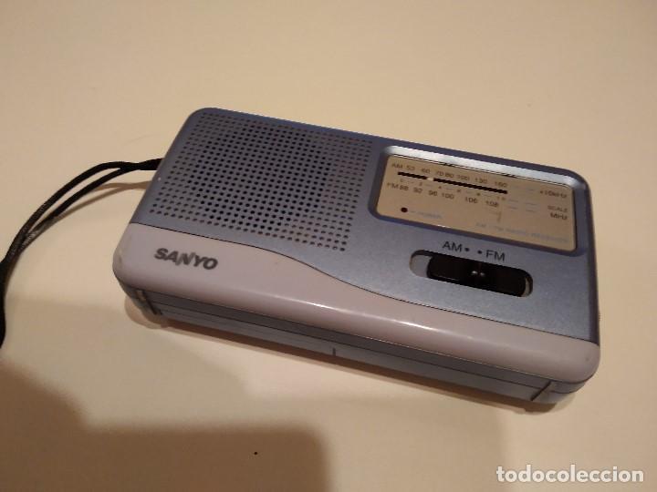 C-PELC18 RADIO SANYO SI FUNCIONAR PARA REPARAR O PIEZAS (Radios, Gramófonos, Grabadoras y Otros - Transistores, Pick-ups y Otros)