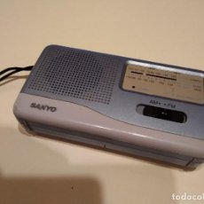 Radios antiguas: C-PELC18 RADIO SANYO SI FUNCIONAR PARA REPARAR O PIEZAS. Lote 171062587