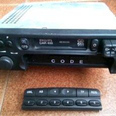 Radios antiguas: RADIO CASETE, CASETTE COCHE PHILLIPS 400 CAR. (NO TENGO CÓDIGO. NO SÉ SI LO NECESITA). Lote 171098485