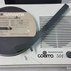 Radios antiguas: ANTIGUO TOCADISCOS TRANSISTOR COSMO 501. Lote 171157109